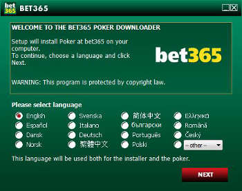 bet365 poker network