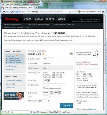 Bodog Poker download