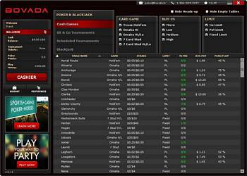 Bovada Poker download