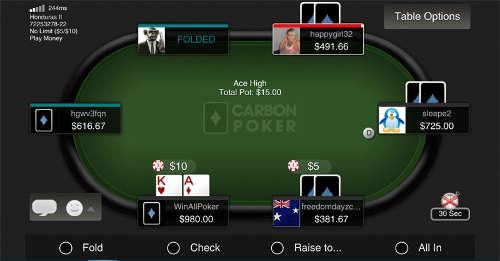 carbon-poker-mobile-version