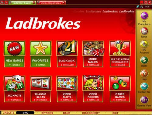 ladbrokes casino login